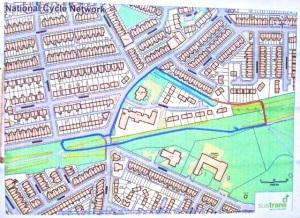 Alternative route for lattice bridge closure