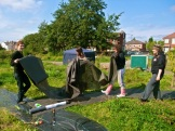 Work on Levenshulme Community Orchard 2