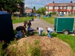 Work on Levenshulme Community Orchard3