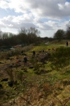 SACV and FotFL volunteers work on new community orchard, AbbeyHey