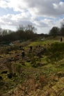 SACV and FotFL volunteers work on new community orchard, Abbey Hey