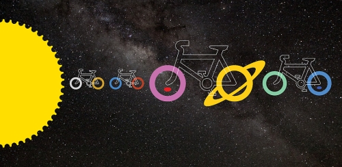 Cycle the solar system
