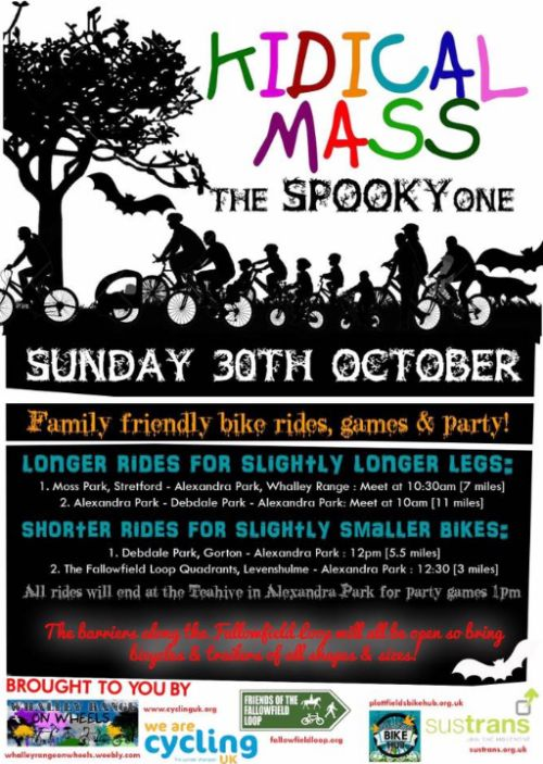 Hallowe'en Kidical Mass