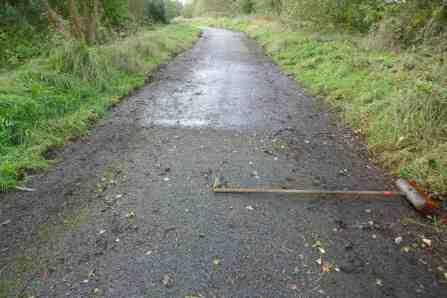 Path-widening work