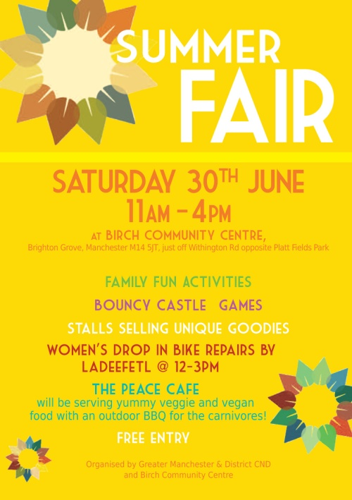 Summer Fair - 30 June 2018